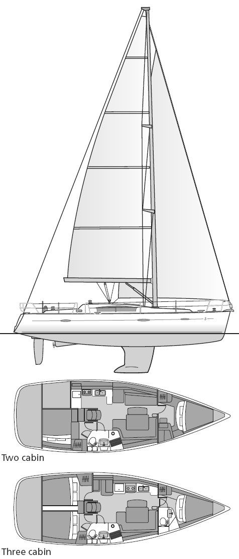 BENETEAU OCEANIS 40photo 13